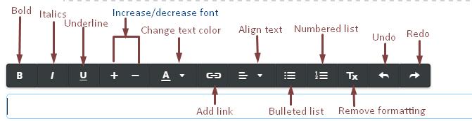Text Toolbar